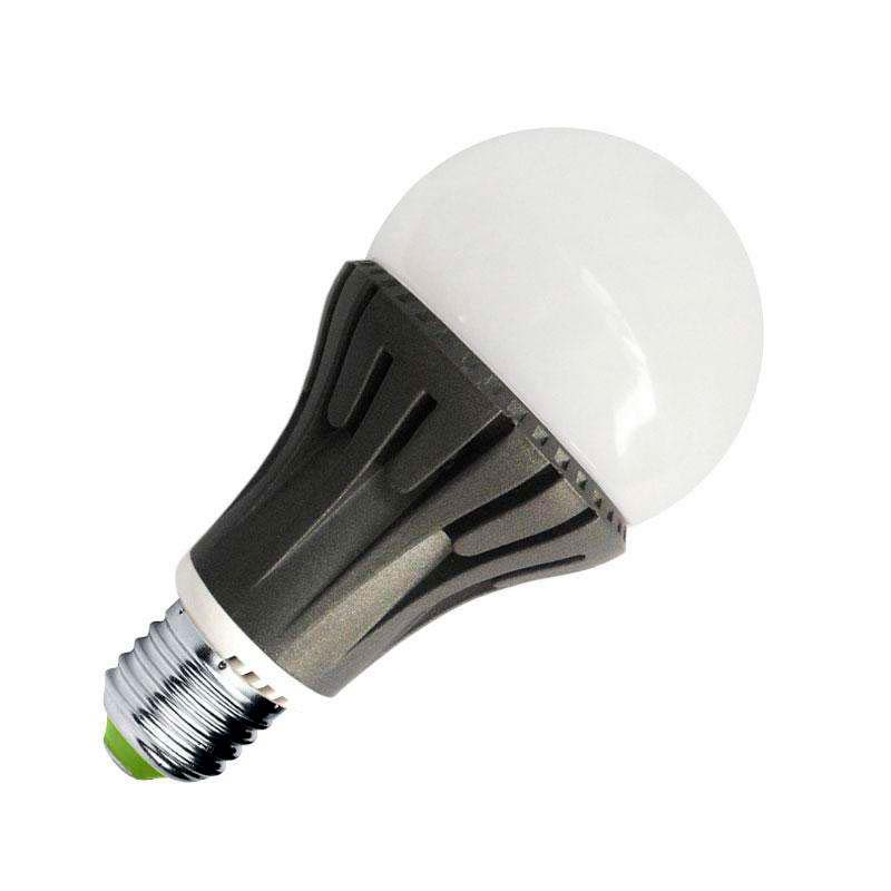 Bombilla LED E27 270º 7W, Blanco neutro